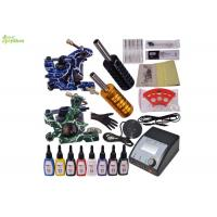 Buy cheap 2 Rotary Tattoo Machine Starter Tattoo Kits Complete Power Supply / Tattoo Gun Sets from wholesalers