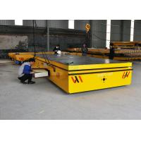Buy cheap 10 t cargo plant trailer on cement floor with hydraulic lifting function from wholesalers