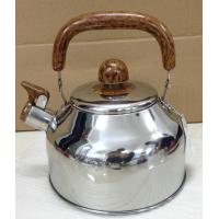 Buy cheap CW1411 Stainless steel whistling kettle with wooden bakelite handle from wholesalers