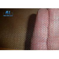 Buy cheap 18*16 Mesh Size 120g Fiberglass Window Screen Mesh Black Color from wholesalers