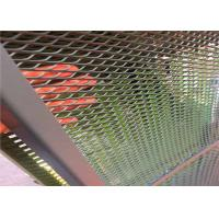 Buy cheap 1m x 2m Highway fence Painted Expanded Metal Mesh from wholesalers