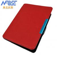 Buy cheap Red Magnetic GLO Kobo Ereader Leather Case With Hard Back Shell from wholesalers