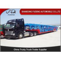 China Double Axles Vehicle Transport  Trailer  Wheelbase Dimensions 10 Cars Carry on sale