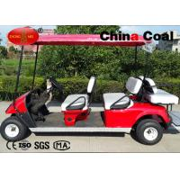 Buy cheap PP Welded Steel 6 Seater Golf Carts Electric With Double Coating from wholesalers