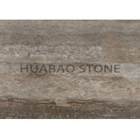 Buy cheap Silver Travertine Marble Granite Slabs Sedimentary Rock Unique Crystalline Structure from wholesalers