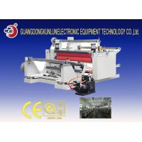 Buy cheap 380v 50HZ Stretch Film Slitting Rewinding Machine for Glass Paper Adhesive Tape from wholesalers