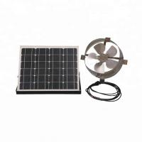 Buy cheap 25W 12 Inch Solar Powered Gable Vent Fan Long Lifespan For Corrugated Steel Roof from wholesalers