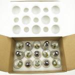 Customized Length Sockets Festoon Led Lighting Outdoor Waterproof Globe String