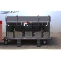 Buy cheap Outdoor Large Mobile 5D Cinema , 12 Seats Cinema Truck product