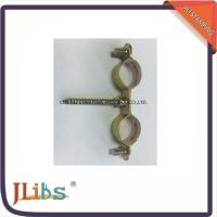 Buy cheap Superfines Stamping Double Galvanized Pipe Clamps M6 Without Rubber from wholesalers