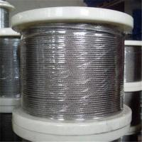 Buy cheap Stainless Steel Wire Rope with 1 x 7, 1 to 3mm Control Cable, Available in in Grade AISI304 from wholesalers