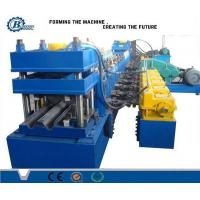 Buy cheap Metal Beam Crash Barrier / Guardrail Roll Forming Machine For Expressway from wholesalers