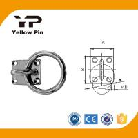 Buy cheap Eye Plate Square/Diamond/Round/Oval  AISI304 with or withour ring from wholesalers