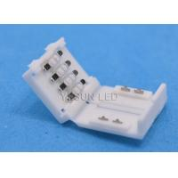 Buy cheap RGB 5050 3528 / 2835 SMD 4 Wire Led Strip Connector With 30000 Hours Working Life Time from wholesalers