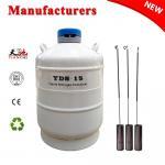 Buy cheap Biological liquid nitrogen tank 15 L animal semen storage container from wholesalers