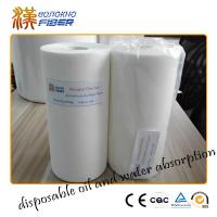 Buy cheap Non Woven Airlaid Fabric Household Cleaning Wipes For Window / Range Hood / Table from wholesalers