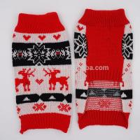Buy cheap 2017 95%Acrylic 5%Spandex 16inch 60g Competive Price Pup Puppies Small Animals Poodle Harness Knit Pet Sweater Pussy from wholesalers
