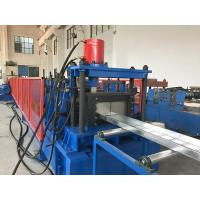 Buy cheap 4-5 Meters / Min Cable Tray Roll Forming Machine Hydraulic Cutting Cr12mov product