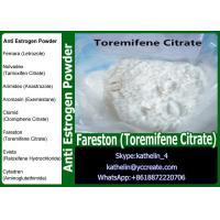 Buy cheap Anti Estrogen Steroids Raw Powder Fareston (Toremifene Citrate) Selective Estrogen Receptor Modulator (SERM) from wholesalers