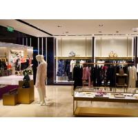 Buy cheap High End Clothing Store Display Fixtures With Hanging Rack Decoration Design from wholesalers