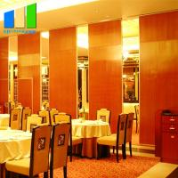 Buy cheap Room Aluminum Office Movable Sound Proof Partitions Malaysia For Restaurant from wholesalers
