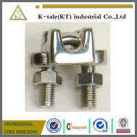 Buy cheap High Quality Stainless Steel Wire cable  Clip/Clamp from wholesalers