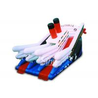 Buy cheap Commercial kids giant inflatable titanic slide board from wholesalers
