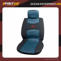 Buy cheap Fashion Polyester custom car seats covers with Embroidered Logo from wholesalers