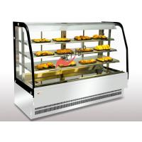 Buy cheap Bakery Food Display Showcase Curved Warming Showcase Closed Type 3 Shelves Different Size Available from wholesalers