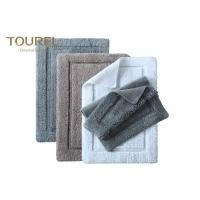 Buy cheap Promotional Grey And Blue Striped Bath Mat Sets Spa Yoga Pool Beach Towel With Tassels from wholesalers
