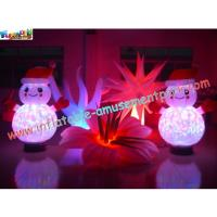 Buy cheap Outdoor / Indoor Popular LED RGB Changing Inflatable Decoration With Remote Control from wholesalers