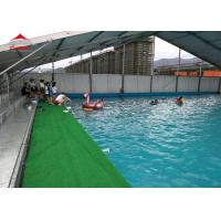 Buy cheap Large Swimming Pool Tent Powder Coated Steel or Aluminum UV Resistance from wholesalers
