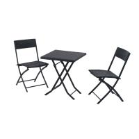Buy cheap Outdorr Rattan Furniture Set Folding Table /Chair Patio Dinning Set from wholesalers
