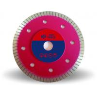 Buy cheap Hot Pressed  Turbo Diamond Cutting Blade , 4 Inch Thin Diamond Cutting Disc from wholesalers