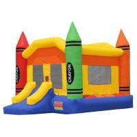 Buy cheap Backyard Kids Inflatable Toddler Bouncy Castle With Double - stitching from wholesalers