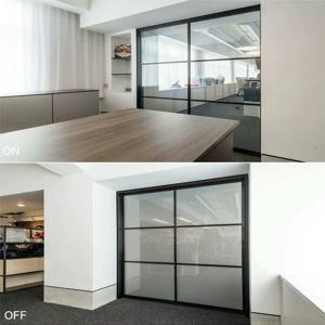China switchable glass film diy eb glass on sale