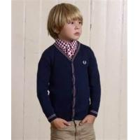 Buy cheap Trendy  eco friendly boy knitted cardigan sweater, button up cotton kids sweater from wholesalers