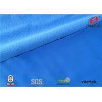 Buy cheap Soft Handfeel Blue Polyester Tricot Knit Fabric Tricot Lining Material Tear - Resistant from wholesalers