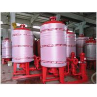 Buy cheap Stainless Steel 304 / 316 Diaphragm Water System Pressure Tank With Polishing product