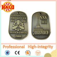 Buy cheap Zinc alloy custom military dog tag from wholesalers
