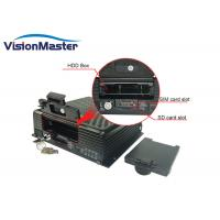 Buy cheap 2TB Hard Disk 4ch IP Cameras 1080p Hd Video Security DVR 4G GPS For Car Taxi product