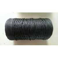 Buy cheap 3mm Black Braided Polyethylene Twine from wholesalers