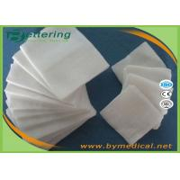 Buy cheap Medical Non woven Swabs Absorbent sterile non woven sponge pads Safe Medical Wound Dressing pads from wholesalers