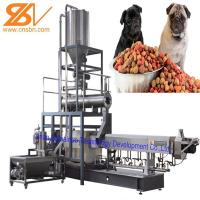 Buy cheap Dog Food Manufacturing Equipment , Pet Extruder Machine SGS Certification from wholesalers