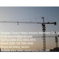 Buy cheap TC6015-8 Building Tower Crane For Construction , 65m Jib Length from wholesalers