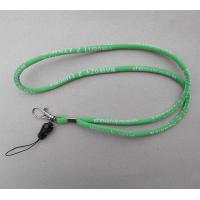 Buy cheap Jacquard fabric cord rope neck straps, elastic fabric cord rope phone holder strap lanyard from wholesalers