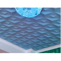 Buy cheap Ceiling 3D Wall Art PVC Wall Panels Embossed Wall Decals Modern 3D Wall Background for Sofa from wholesalers