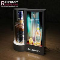 Buy cheap Hot Selling Mini Illuminated Display High Tech Counter Acrylic Drinks Display Rack from wholesalers