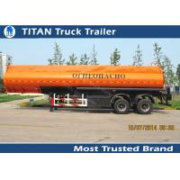 Buy cheap Diesel fuel gasoline tank trailer with 30000 liters - 42000 liters capacity from wholesalers