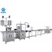 Buy cheap Automatic Mascara Filling Machine Linear Production Line With 12 Nozzles from wholesalers